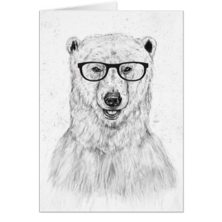 Geek bear card
