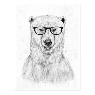 Geek bear postcard