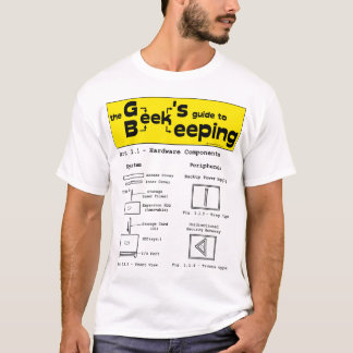 Geek Beekeeping (Hardware) - White T-shirt