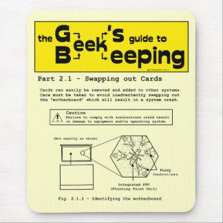 Geek Beekeeping (Swapping Cards) - Mousepad