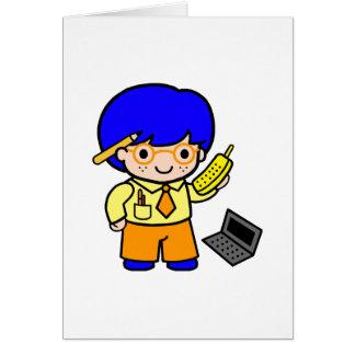 Geek Boy 2 Note Card