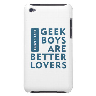 Geek boys are better lovers iPod touch covers