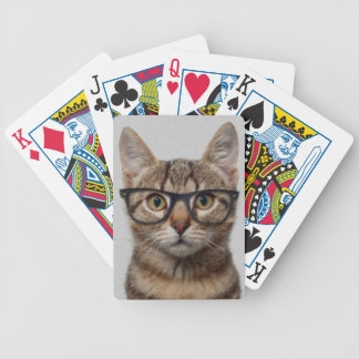 Geek cat poker deck