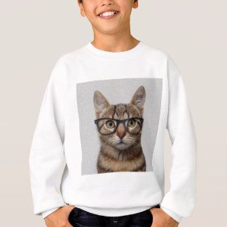 Geek Cat Sweatshirt
