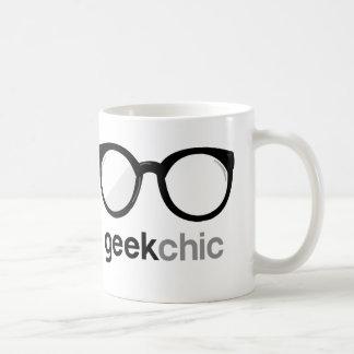 Geek Chic Basic White Mug