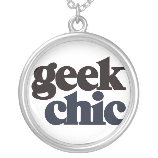 Geek Chic Custom Necklace
