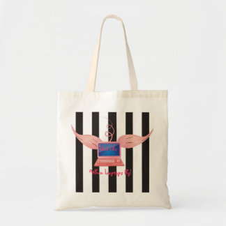 Geek Chic, When Laptops Fly! Budget Tote Bag