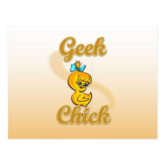 Geek Chick Post Card