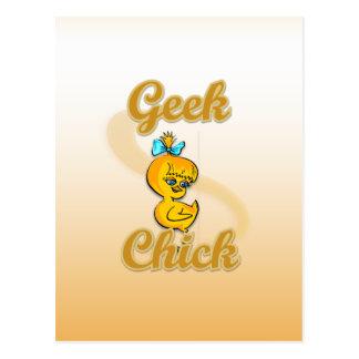 Geek Chick Postcards