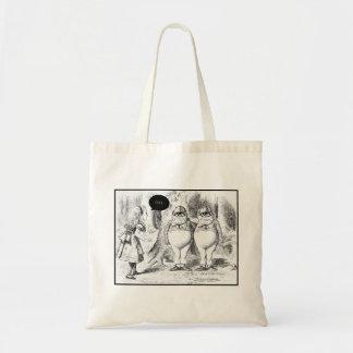 GEEK CLOTHING/alice secteye Budget Tote Bag