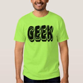 GEEK! Dork Dweeb Nerd and Egghead Tshirts