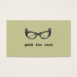 Geek For Rent, Web Developer Business Card