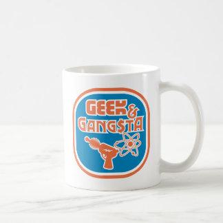 Geek Gangsta Funny Nerd Ray Gun Atom Symbol Coffee Mugs