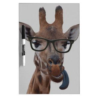 Geek Giraffe Dry Erase Board