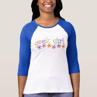 Geek Girl Daisies T-Shirt