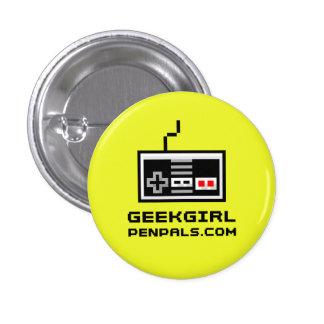 "Geek Girl Pen Pals ""Gamer"" Pin"