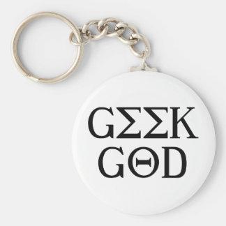Geek God Keychains