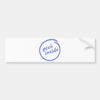 Geek Inside Bumper Sticker