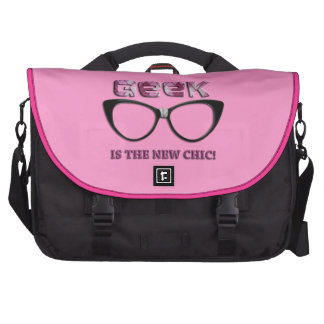 Geek is the New Chic Laptop Computer Bag