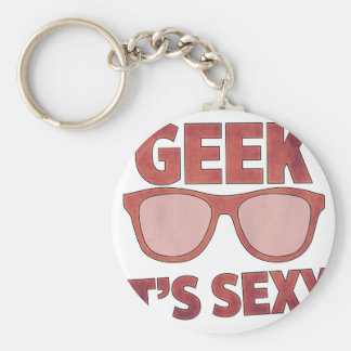geek it's sexy key ring