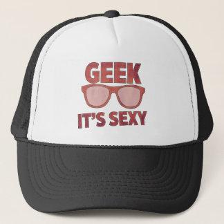 geek it's sexy trucker hat