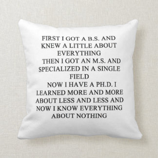 geek joke cushion