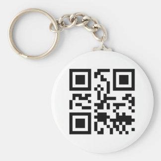 Geek Key Ring