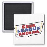 Geek League of America Magnet