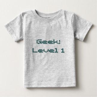 Geek: Level 1 Baby T-Shirt