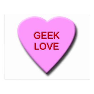 Geek Love Postcard