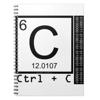 Geek Me! Carbon Copy Notebook