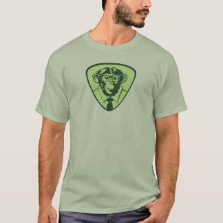 Geek Monkey shirt - green