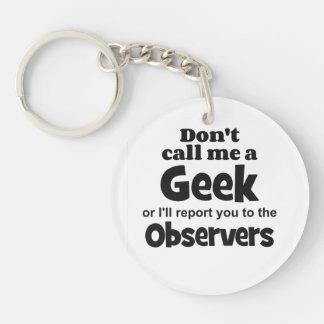 Geek Observers bf Acrylic Keychains