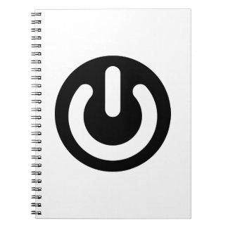 Geek Power Ideology Spiral Notebook