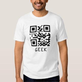 Geek QR Code Tee Shirt