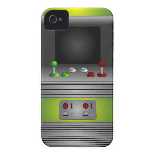 Geek Retro Video Game Console iPhone 4 Case