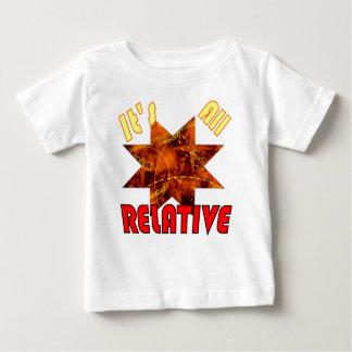 Geek science theory of relativity Einstein kids Baby T-Shirt