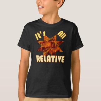 Geek science theory of relativity Einstein kids T Shirts