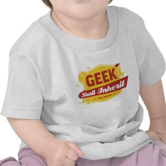 Geek Shall Inherit the Earth T-shirt
