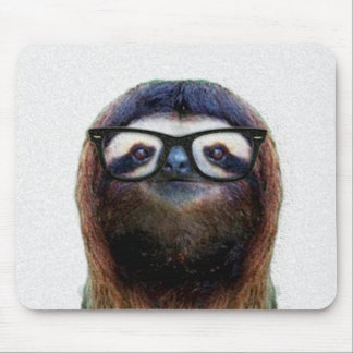 Geek Sloth Mouse Mat