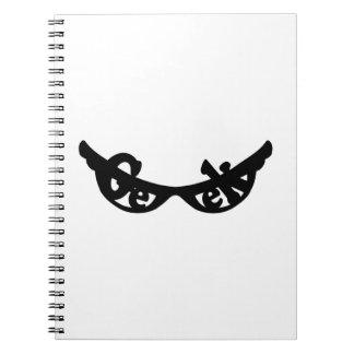 Geek specs spiral note book