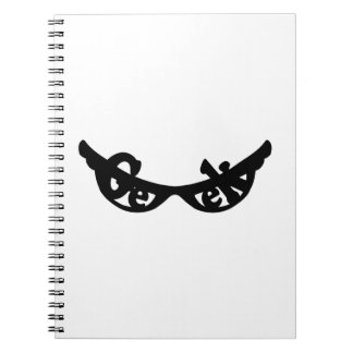 Geek specs spiral note book