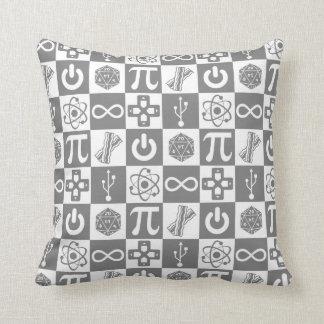 Geek Symbols Pillow