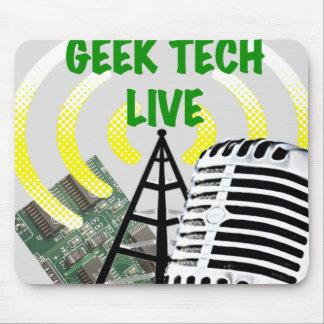 Geek Tech Live Gear! Mouse Pad