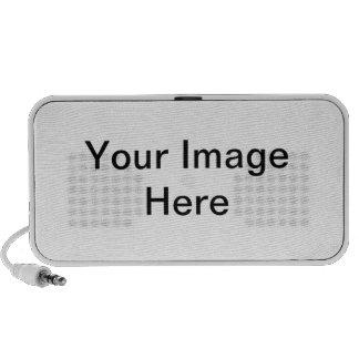 Geek template iPhone speakers