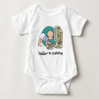 geek toddler in training t shirt or