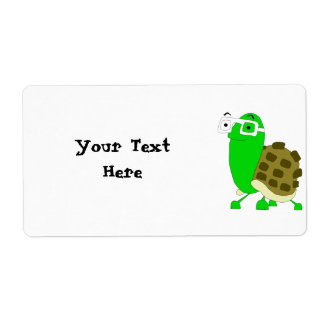 Geek Turtle Label Template Shipping Label
