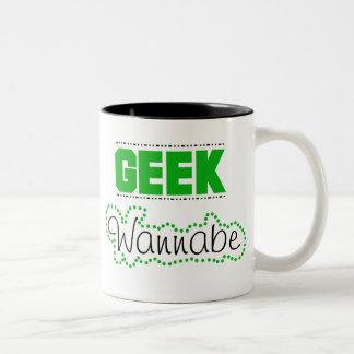 Geek Wannabe Coffee Mug