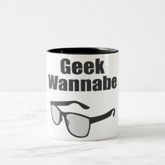 Geek Wannabe Two-Tone Mug