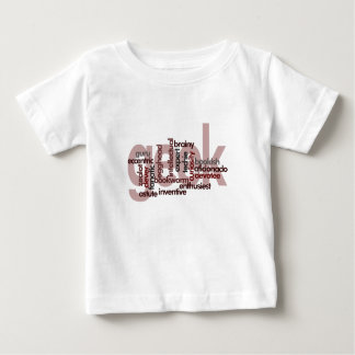 Geek Word Cloud Baby T-Shirt